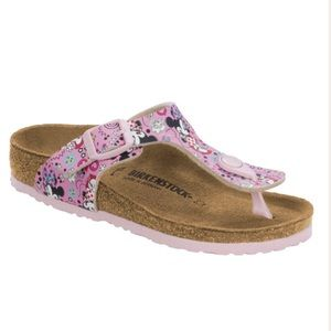NEW Minnie Mouse Birkenstock Gizeh Sandal